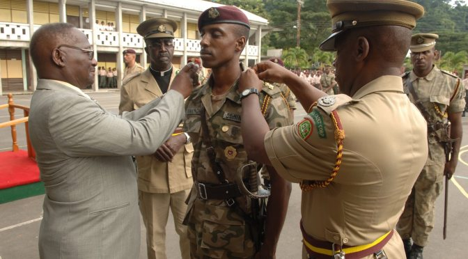 Rebuild Dominica On A Campaign To Assist Dominica's Cadet Corps