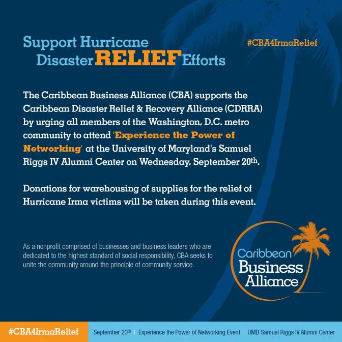 Rebuild Dominica Supports The Caribbean Business Alliance in Hurricane Relief Efforts