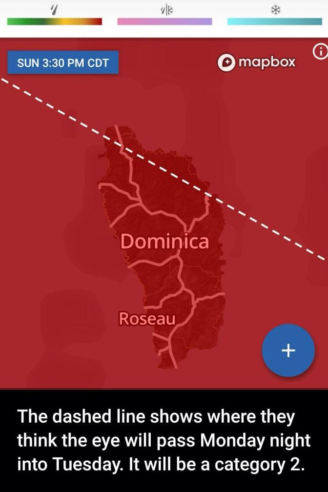 Where is Hurricane Maria?