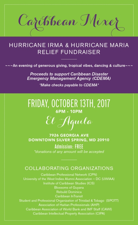 Caribbean Hurricane Relief_Oct 2017