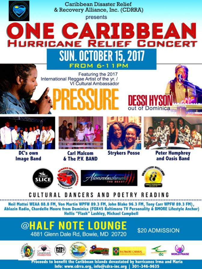 One Caribbean Hurricane Relief Concert