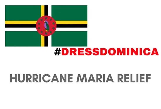 #DressDominica Hurricane Maria Relief Campaign