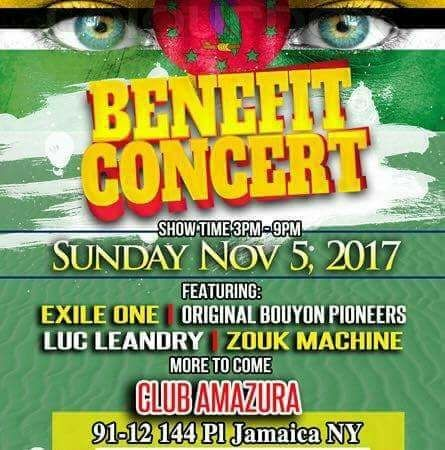 Support the Benefit Concert in NYC on November 5th!