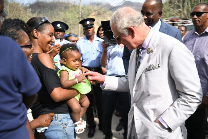 Prince Charles Boasts On The Resilience of Dominica Post-Hurricane Maria