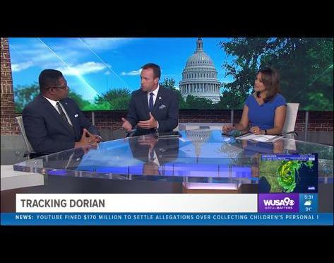 Friend of Rebuild Dominica Jerry Butler Talks to CBS About Hurricane Dorian